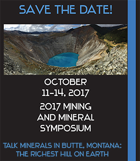 2017 Mining and Mineral Symposium-Oct 11-14