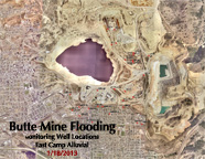 Butte Mine Flooding-Alluvial