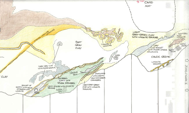 Curlew mine map