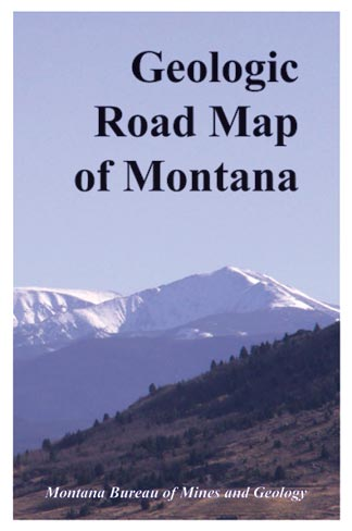 GM 65 Montana Geologic road map